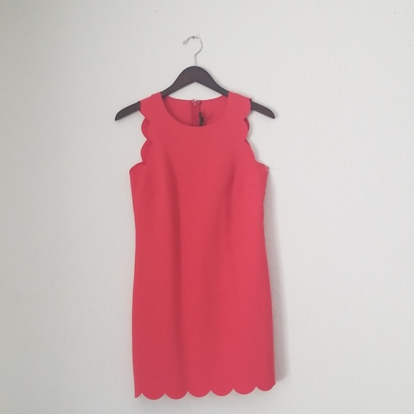J. Crew Dresses & Skirts - J. Crew scalloped edged dress